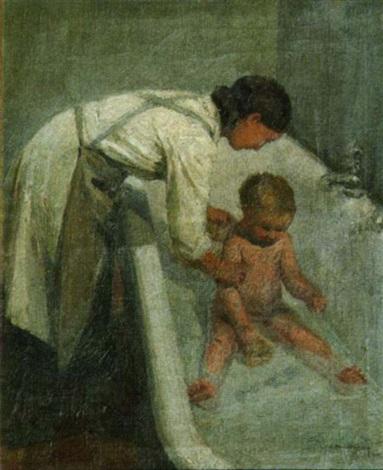 le bain de lenfant by andré mériel bussy