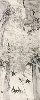 花鸟 by mo xiaosong