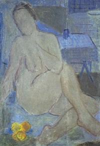 portræt af nogen kvindemodel by immanuel ibsen