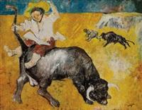 rodeo by bernard lorjou