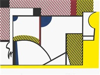 bull iv, from bull profile by roy lichtenstein