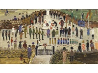 remembrance day - helston by fred yates
