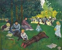 déjeuner sur l'herbe by jean-emile laboureur