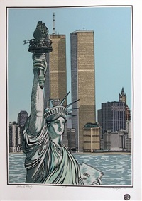 statue of liberty by cindy wolsfeld