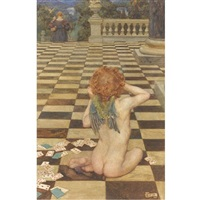 o love! has she done this to thee? what shall, alas! become of me? by eleanor fortescue-brickdale