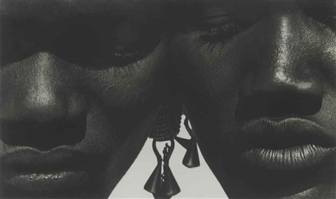 kashiro and darati tight view africa by herb ritts