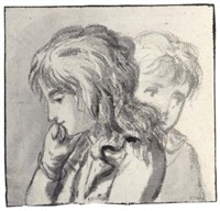 study of the heads of two children by anthony andriessen