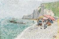 la plage (+ la plage, 14 juillet; pair) by camille lesne