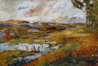 autumn in the dunes by lidija auza
