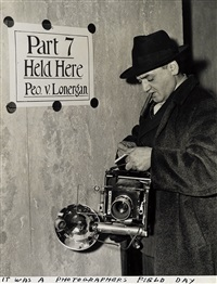 it was a photographer's field day by weegee