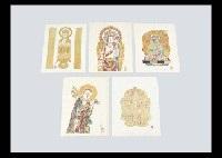images of buddha (portfolio of 5) by keisuke serizawa