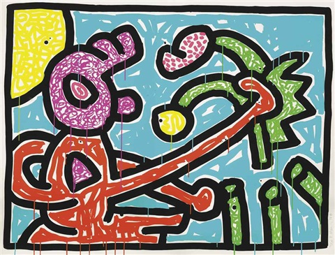 flowers suite by keith haring