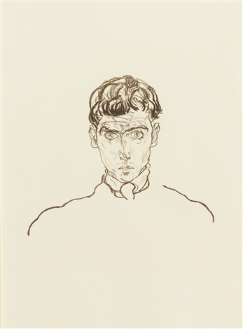 portrait of paris von gütersloh by egon schiele