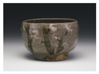 tea bowl/samidare by handeishi kawakita