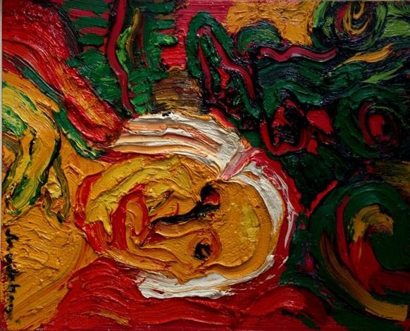portrait de suzy solidor by bengt lindström
