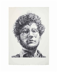 frank by chuck close