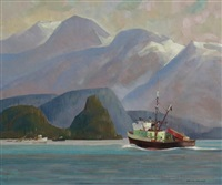 moresby west coast by ronald threlkeld jackson
