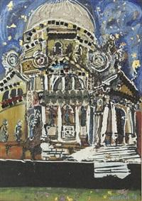 la (chiesa della) salute a venezia by carlo hollesch