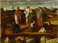 la transfiguration du christ by giovanni bellini
