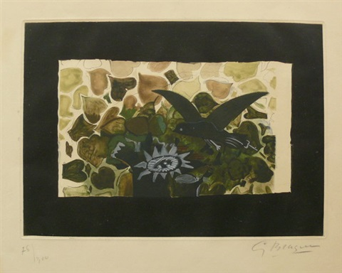 das grüne nest by georges braque