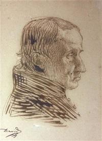portrait présumé de charles percier by pierre jean david d' angers