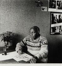 portrait of gerard sekoto by graham de smidt
