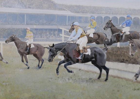 """""""reynoldstown"""" - winner of 1936 grand national, fulke walwyn up by charles walter simpson"""