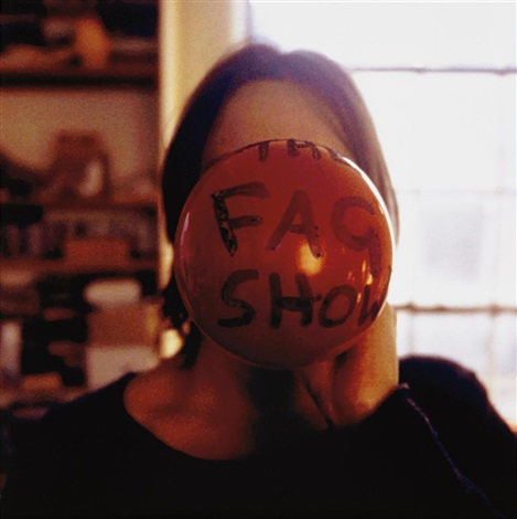 the fag show by sarah lucas