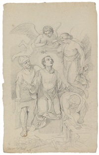 das martyrium des hl. laurentius by josef von führich