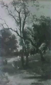 at godshill, isle of wight by joseph william allen