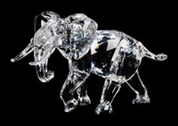 elephant figure by swarovski (co.)