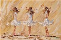 three ballerinas by lorna millar