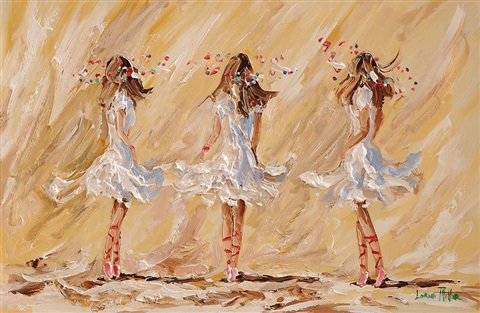 three ballerinas by lorna millar