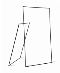 thin black lines (6500mm hanger rack) by nendo