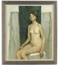 the artist's model by margarita kolobova
