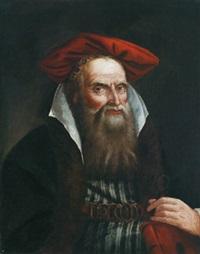 porträt eines alten orientalen - ritratto di vecchio orientale by giovanni raggi
