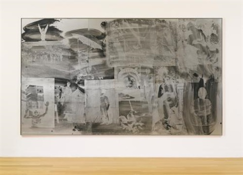 heroessheroes night shade in 3 parts by robert rauschenberg
