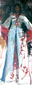 femme au caftan by habib kibari