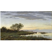 twilight by mikhail konstantinovich klodt von jurgensburg