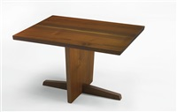 side table by george nakashima