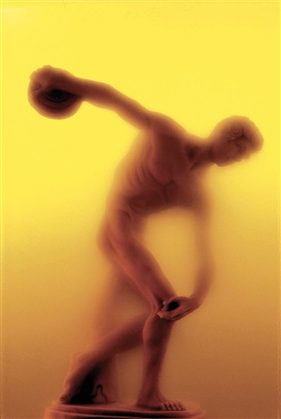 discobolo from piss series by andres serrano