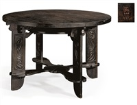 gaming table by charles rohlfs