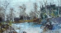 paesaggio lacustre by ezelino briante