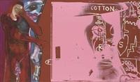 casa del popolo by jean-michel basquiat, francesco clemente and andy warhol