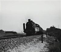 le train 18 de passage à blesms-haussignemont by henri vial