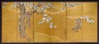 six-fold screen by japanese school-kano (18)