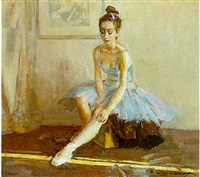 ballerina by vassili brataniuk