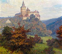 burg schlaining by albert kollmann