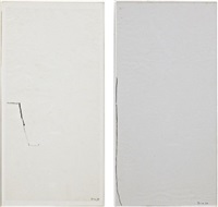 untitled (+ untitled; 2 works) by mira schendel