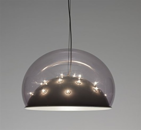 Moon ceiling light by gino sarfatti on artnet moon ceiling light by gino sarfatti aloadofball